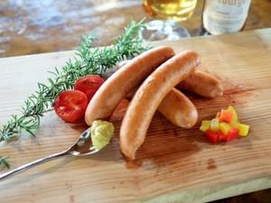 ピリ辛チョリソー ドイツ製法粗挽きソーセージ ウインナー