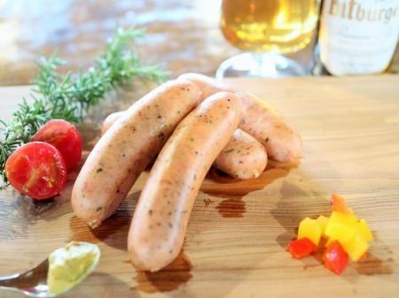 爽やかな肉汁あふれるハーブウインナー ドイツ製法ソーセージ