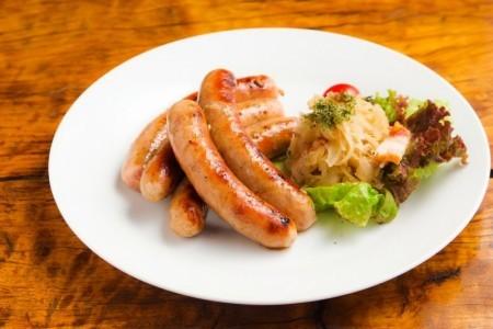 【送料込】贈答用 冷凍 熊本県生産直売♪肉汁あふれる生ウィンナー1kg(200g×5p)【E-2】